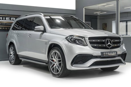 Mercedes-Benz GLS AMG GLS 63 4MATIC, PANORAMIC GLASS ROOF, ADAPTIVE HIGH BEAM ASSIST PLUS 10