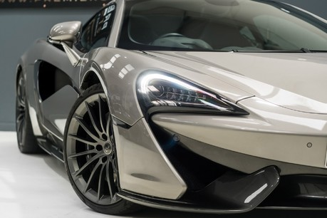 McLaren 570 GT 3.8 V8 TWIN TURBO SSG, BLADE SILVER SPECIAL PAINT, GT BODY, NOSE LIFT 1