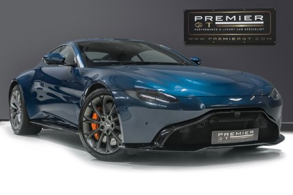 Aston Martin Vantage 4.0 V8, SPORTS PLUS PACK, COMFORT PACK, TECH PACK, FRONT END PPF
