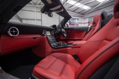 Mercedes-Benz SLS 63 AMG 6.2 V8 ROADSTER. NOW SOLD. CALL US TODAY TO SELL YOUR MERCEDES. 46
