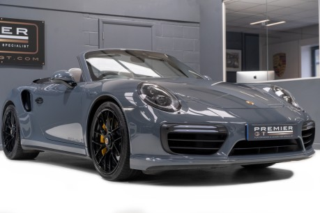 Porsche 911 991 TURBO S PDK CABRIOLET. SORRY, NOW SOLD. CALL US TO SELL YOUR PORSCHE. 9
