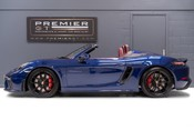 Porsche 718 4.0 6-SPEED MANUAL SPYDER, DELIVERY MILEAGE, CLASSIC SPYDER INT. PACKAGE 4