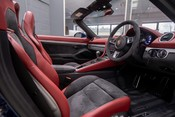 Porsche 718 4.0 6-SPEED MANUAL SPYDER, DELIVERY MILEAGE, CLASSIC SPYDER INT. PACKAGE 34