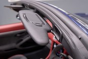Porsche 718 4.0 6-SPEED MANUAL SPYDER, DELIVERY MILEAGE, CLASSIC SPYDER INT. PACKAGE 65