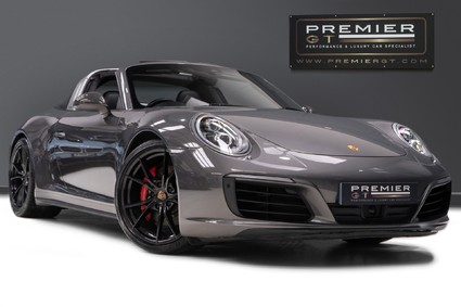 Porsche 911 TARGA 4S PDK, SPORTS EXHAUST SYSTEM, FRONT AXLE LIFT SYSTEM, 18-WAY SEATS