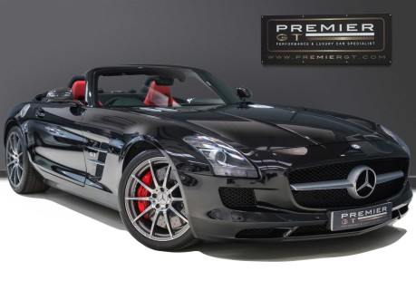Mercedes-Benz SLS AMG 6.2 V8 ROADSTER, £10,000 OF OPTIONS, MERCEDES FSH, VERY LOW MILEAGE 1