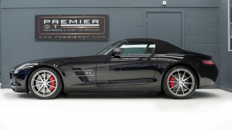 Mercedes-Benz SLS AMG 6.2 V8 ROADSTER, £10,000 OF OPTIONS, MERCEDES FSH, VERY LOW MILEAGE 6