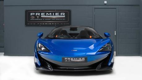 McLaren 600 LT SPIDER V8 SSG, VEGA BLUE, £32,000 OF OPTIONS, LUXURY PACK 2