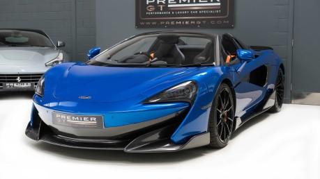McLaren 600 LT SPIDER V8 SSG, VEGA BLUE, £32,000 OF OPTIONS, LUXURY PACK 3