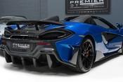 McLaren 600 LT SPIDER V8 SSG, VEGA BLUE, £32,000 OF OPTIONS, LUXURY PACK 6