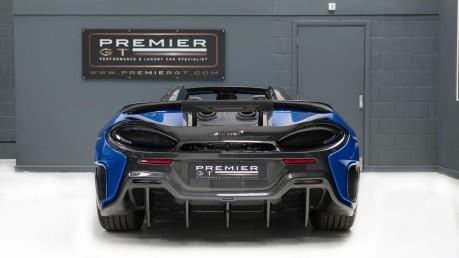 McLaren 600 LT SPIDER V8 SSG, VEGA BLUE, £32,000 OF OPTIONS, LUXURY PACK 8