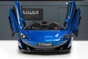 McLaren 600 LT SPIDER V8 SSG, VEGA BLUE, £32,000 OF OPTIONS, LUXURY PACK 10