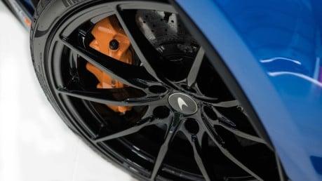 McLaren 600 LT SPIDER V8 SSG, VEGA BLUE, £32,000 OF OPTIONS, LUXURY PACK 12