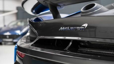 McLaren 600 LT SPIDER V8 SSG, VEGA BLUE, £32,000 OF OPTIONS, LUXURY PACK 23