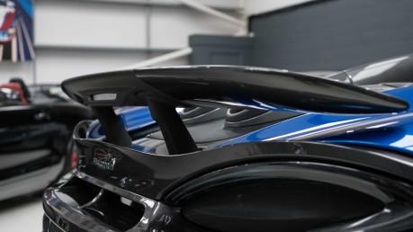 McLaren 600 LT SPIDER V8 SSG, VEGA BLUE, £32,000 OF OPTIONS, LUXURY PACK 28