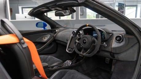 McLaren 600 LT SPIDER V8 SSG, VEGA BLUE, £32,000 OF OPTIONS, LUXURY PACK 33