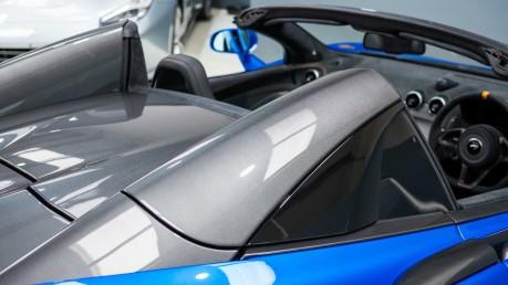 McLaren 600 LT SPIDER V8 SSG, VEGA BLUE, £32,000 OF OPTIONS, LUXURY PACK 34
