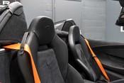 McLaren 600 LT SPIDER V8 SSG, VEGA BLUE, £32,000 OF OPTIONS, LUXURY PACK 35