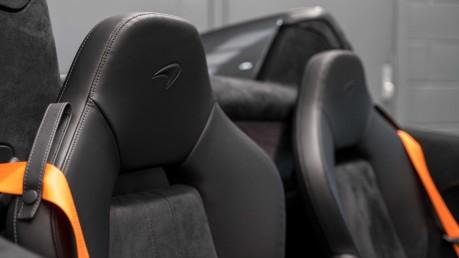 McLaren 600 LT SPIDER V8 SSG, VEGA BLUE, £32,000 OF OPTIONS, LUXURY PACK 36