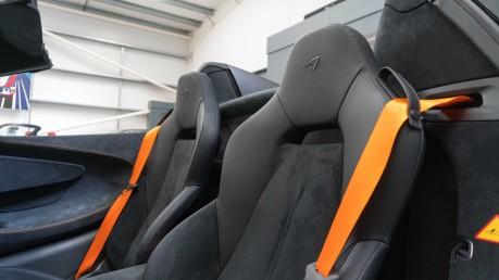 McLaren 600 LT SPIDER V8 SSG, VEGA BLUE, £32,000 OF OPTIONS, LUXURY PACK 38