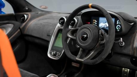McLaren 600 LT SPIDER V8 SSG, VEGA BLUE, £32,000 OF OPTIONS, LUXURY PACK 43