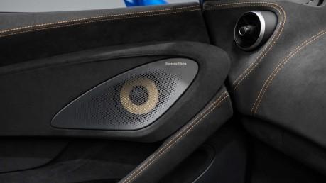 McLaren 600 LT SPIDER V8 SSG, VEGA BLUE, £32,000 OF OPTIONS, LUXURY PACK 52