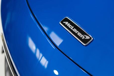 McLaren 600 LT SPIDER V8 SSG, VEGA BLUE, £32,000 OF OPTIONS, LUXURY PACK 1