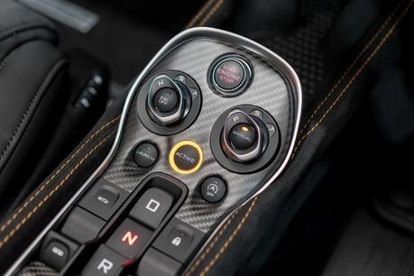 McLaren 600 LT SPIDER V8 SSG, VEGA BLUE, £32,000 OF OPTIONS, LUXURY PACK 4