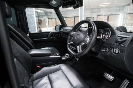 Mercedes-Benz G Series G63 AMG. 5.5 BI-TURBO V8. REAR ENTERTAINMENT AND WINTER PACKAGE. 31
