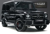 Mercedes-Benz G Series G63 AMG. 5.5 BI-TURBO V8. REAR ENTERTAINMENT AND WINTER PACKAGE.