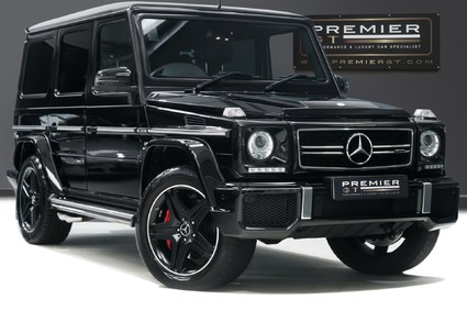 Mercedes-Benz G Series G63 AMG. 5.5 BI-TURBO, HUGE SPEC WITH REAR ENTERTAINMENT AND WINTER PACKAGE