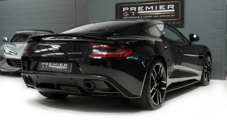 Aston Martin Vanquish 6.0 V12. CARBON BLACK EDITION. FULL ASTON MARTIN SERVICE HISTORY. 8