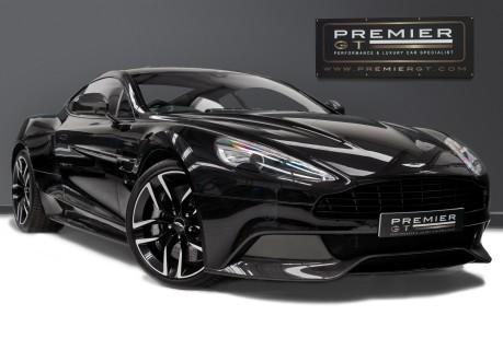 Aston Martin Vanquish 6.0 V12. CARBON BLACK EDITION. FULL ASTON MARTIN SERVICE HISTORY. 1