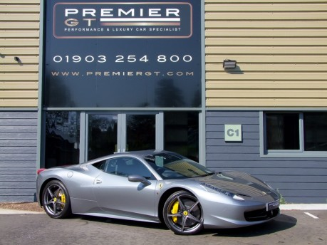 Ferrari 458 ITALIA 4.5 V8 DCT COUPE. SORRY, THIS VEHICLE IS NOW SOLD. 50