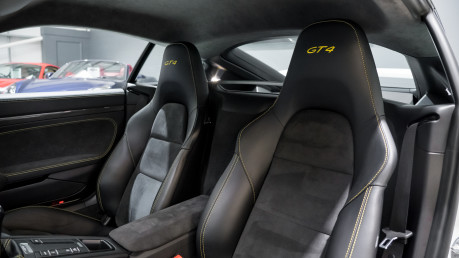 Porsche Cayman GT4. 1 OWNER. NOW SOLD. SIMILAR VEHICLES REQUIRED.PLEASE CALL 01903 254800. 33