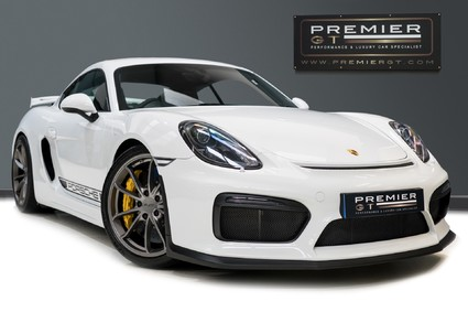 Porsche Cayman GT4. PCCBs. SPORTS CHRONO PACKAGE. CARBON & LEATHER INTERIOR PACKS. 1 OWNER