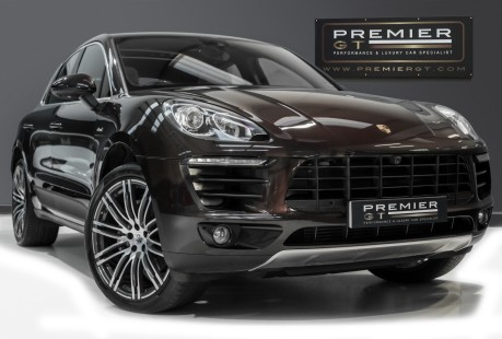 Porsche Macan S 3.0 V6 D PDK. GREAT SPECIFICATION. OVER £10K OF OPTIONS. PANO ROOF. 1