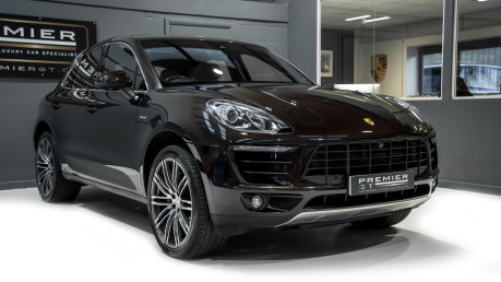 Porsche Macan S 3.0 V6 D PDK. GREAT SPECIFICATION. OVER £10K OF OPTIONS. PANO ROOF. 18