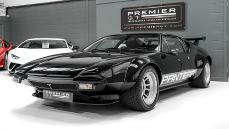 De Tomaso Pantera V8. SHOW WINNER. NOW SOLD, SIMILAR REQUIRED. PLEASE CALL 01903 254800 3