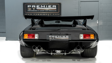 De Tomaso Pantera V8. SHOW WINNER. GT4 CAMPAGNOLO WHEELS. ZF 5-SPEED GEARBOX REBUILT BY RBT. 7