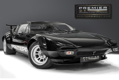De Tomaso Pantera V8. SHOW WINNER. GT4 CAMPAGNOLO WHEELS. ZF 5-SPEED GEARBOX REBUILT BY RBT. 1