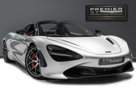 McLaren 720S SPIDER. 4.0 V8 NOW SOLD. SIMILAR REQUIRED CALL 01903 254 800. 1