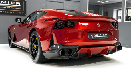 Ferrari 812 Superfast 6.5 V12. ROSSO FUOCO NOW SOLD. SIMILAR REQUIRED CALL 01903 254 800. 6