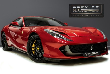Ferrari 812 Superfast 6.5 V12. ROSSO FUOCO NOW SOLD. SIMILAR REQUIRED CALL 01903 254 800. 1