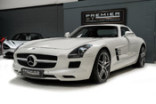 Mercedes-Benz SLS AMG 6.2 V8. ONE FORMER KEEPER. HUGE SPECIFICATION. DESIGNO RED LEATHER. 4