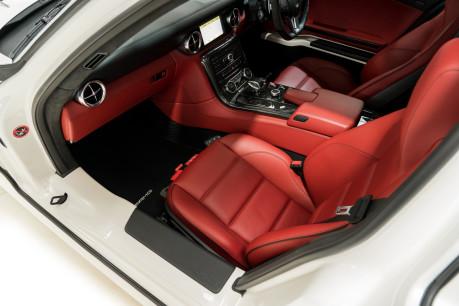 Mercedes-Benz SLS AMG 6.2 V8. ONE FORMER KEEPER. HUGE SPECIFICATION. DESIGNO RED LEATHER. 35