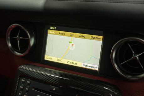 Mercedes-Benz SLS AMG 6.2 V8. ONE FORMER KEEPER. HUGE SPECIFICATION. DESIGNO RED LEATHER. 53
