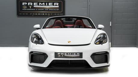 Porsche 718 4.0 SPYDER. 6-SPEED MANUAL. BRAND NEW CAR. SPYDER INTERIOR. SPORTS CHRONO. 2