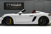 Porsche 718 4.0 SPYDER. 6-SPEED MANUAL. BRAND NEW CAR. SPYDER INTERIOR. SPORTS CHRONO. 4