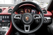 Porsche 718 4.0 SPYDER. 6-SPEED MANUAL. BRAND NEW CAR. SPYDER INTERIOR. SPORTS CHRONO. 43